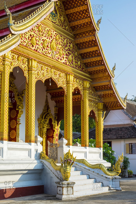Wat Nong Sihkounmuang buddhist temple, Luang Prabang, Louangphabang Province, Laos
