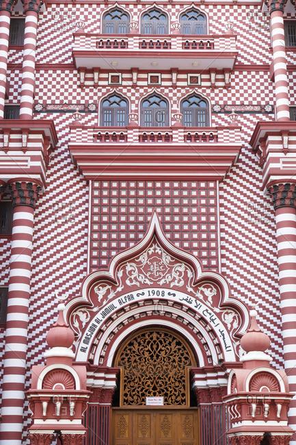 Red Masjid, Pettah, Colombo, Sri Lanka