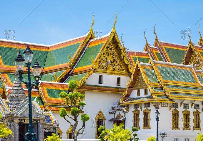 Phra Maha Monthien group, Grand Palace complex, Bangkok, Thailand