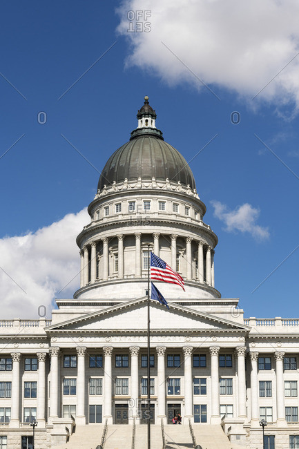 State Capital building, Salt Lake City, Utah, USA