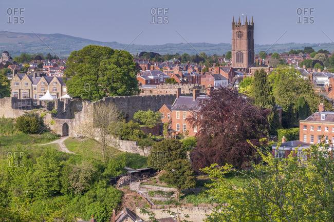 UK, England, Shropshire, Ludlow, Ludlow Castle