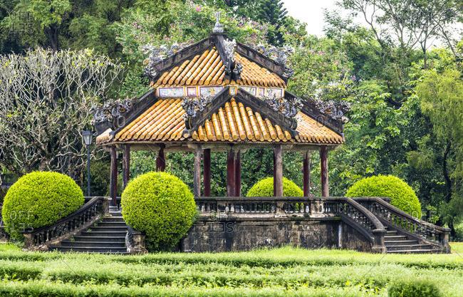 Gardens of the  Imperial City, Hue, Vietnam