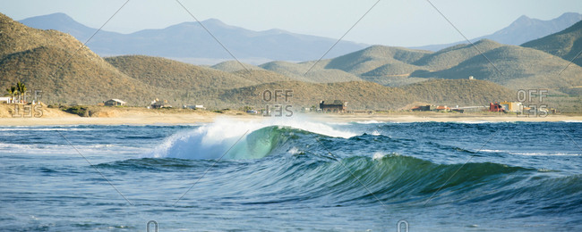 Waves At Baja California Sur, Mexico