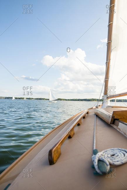 Sailing on Narragansett Bay