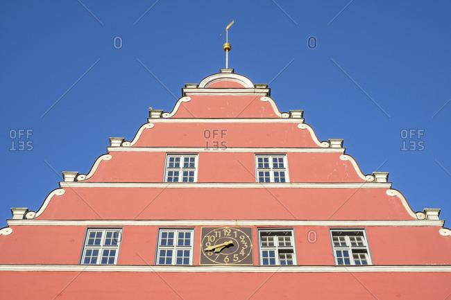 Germany- Mecklenburg-Western Pomerania- Greifswald- town hall