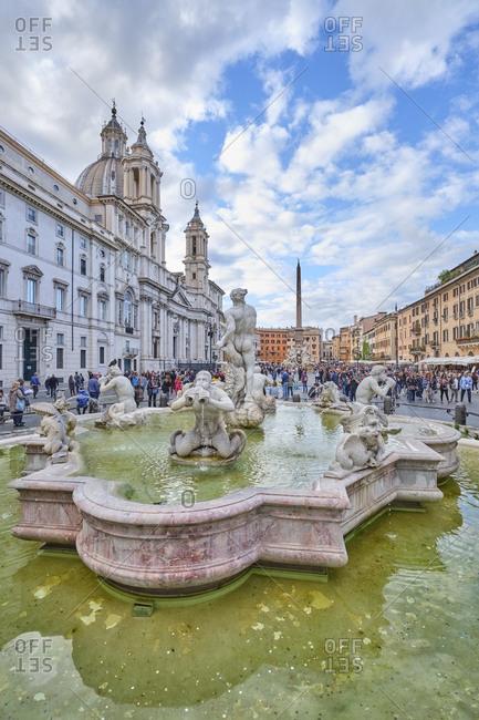 May 20, 2019: Piazza Navona- Rome- Italy