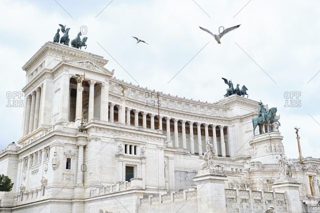 Monumento a Vittorio Emanuele II- Rome- Italy