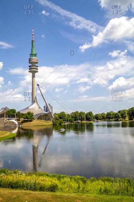July 11, 2019: Olympia park- Munich- Germany