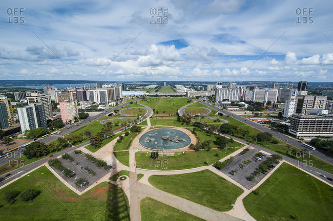 February 15, 2011: View from the Television Tower over Brasilia- Brazil