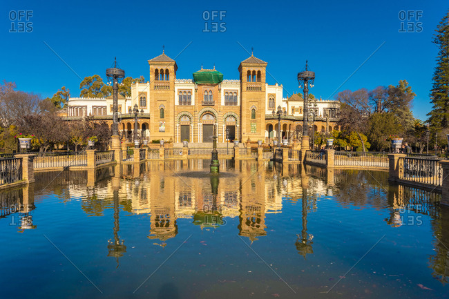 January 26, 2019: Museum of Popular Arts and Traditions- Seville- Spain