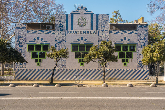 Guatemala Pavilion- Seville- Spain