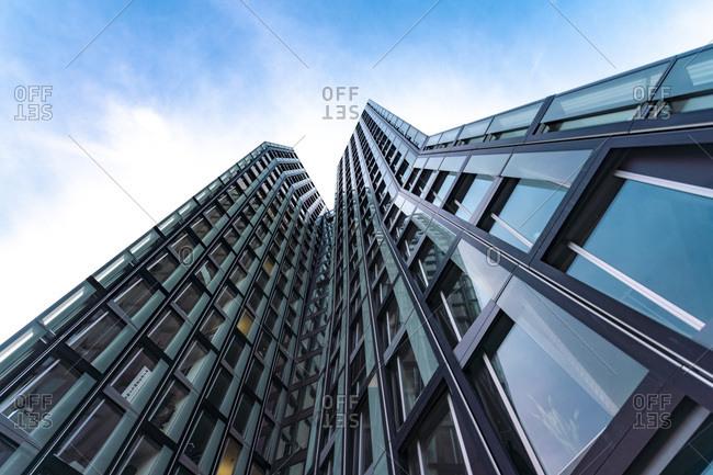 August 29, 2018: Dancing Towers- St. Pauli- Hamburg- Germany