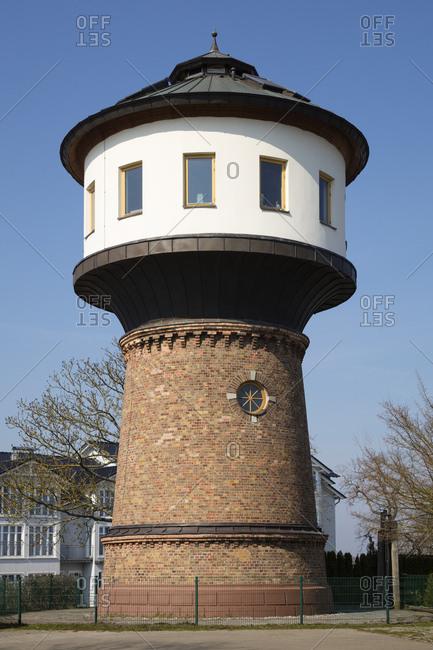 Water tower- Goehren- Moenchgut- Ruegen- Germany