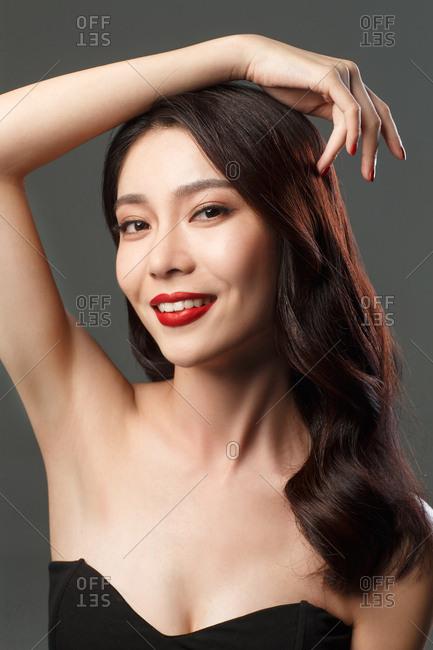 Beauty makeup face portrait - Offset