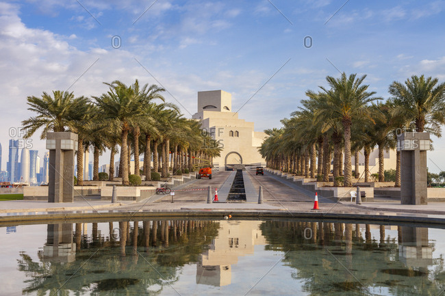January 3, 2016: Museum of Islamic Art in Doha, Qatar