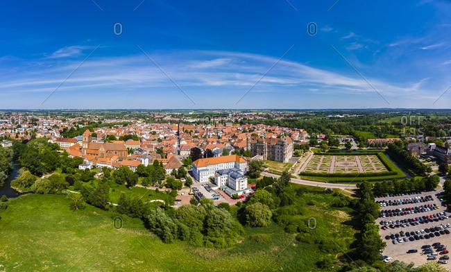 Germany- Mecklenburg-Western Pomerania- Guest row-
