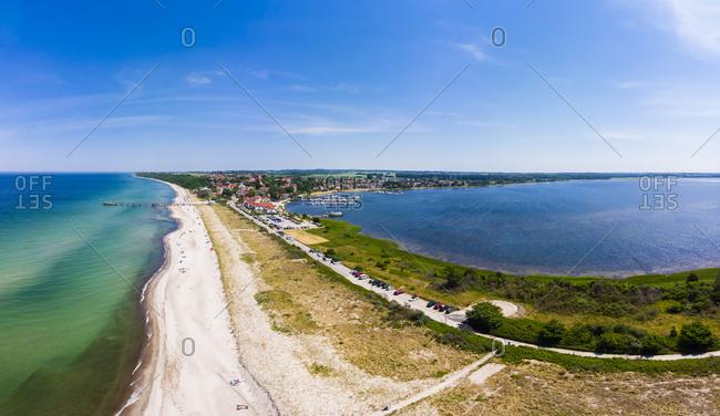 Germany- Mecklenburg-Western Pomerania- Bay of Wismar- Peninsula Wustrow- Baltic sea seaside resort Rerik