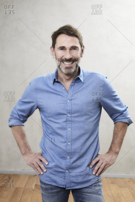 Portrait of a smiling man- Best Ager