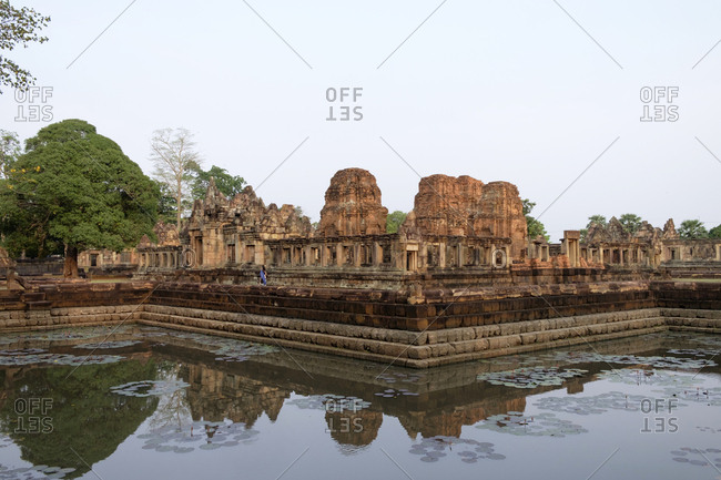 Thailand- Buriram Province- Khmer Temple- Prasat Muang Tam