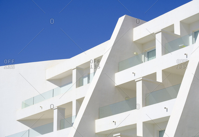 Balconies of a hotel- Lanzarote- Spain
