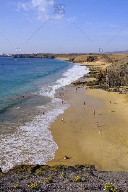 Playas de Papagayo- Lanzarote- Spain