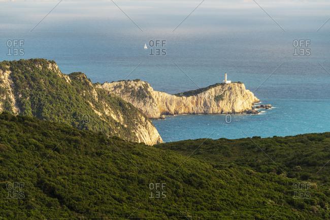 Lighthouse Doukato- Cape Lefkadas- Lefkada Island- Greece