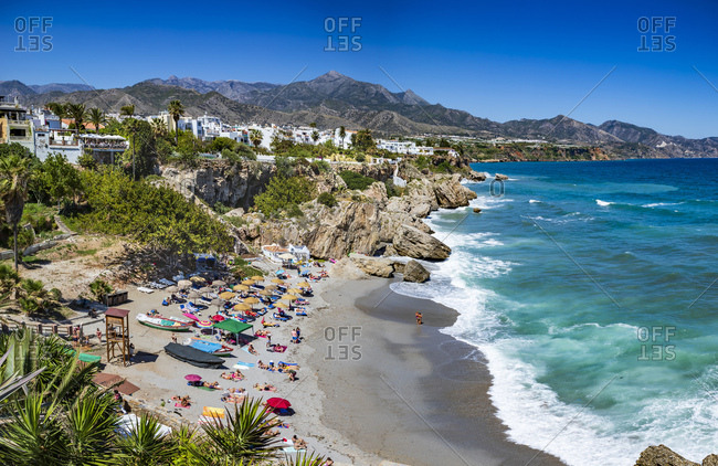 May 12, 2019: Playa Calahonda- Nerja- Costa del Sol- Spain