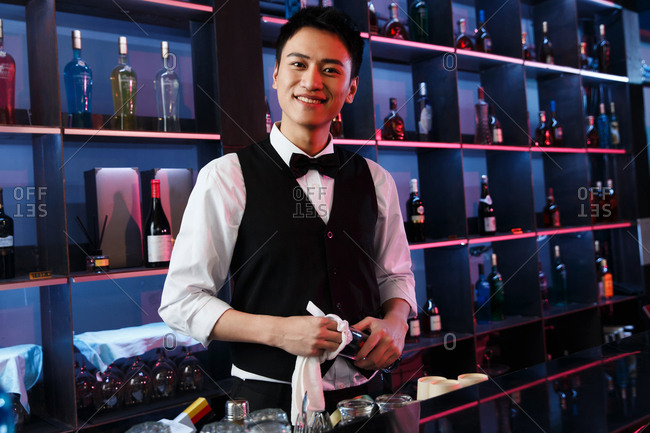 The bartender bar