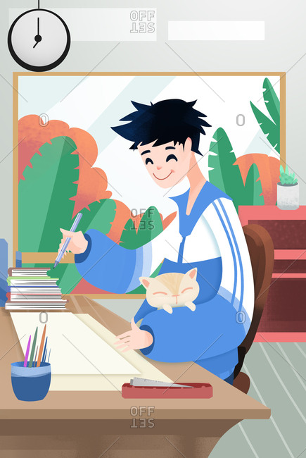 Illustration students
