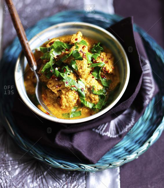 Chicken Tikka Masala (chicken curry, India)