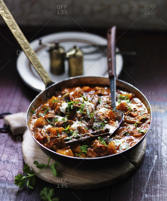 Lamb rogan josh (India) - Offset