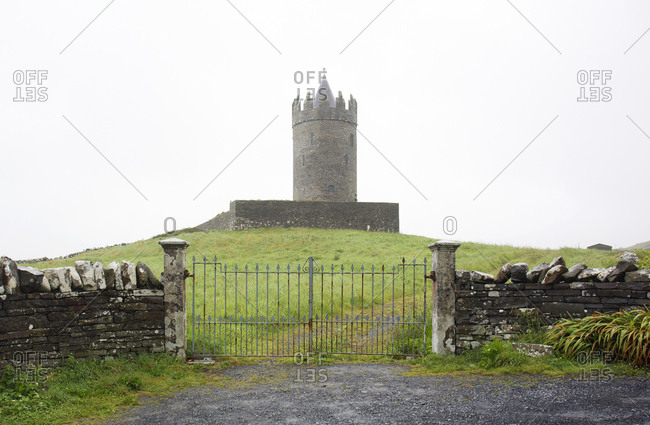 Doonagore Castle tower, Kerry County, Ireland