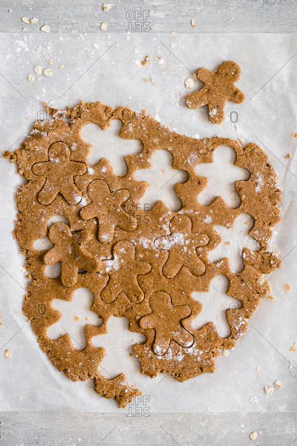 Gingerbread cookie dough
