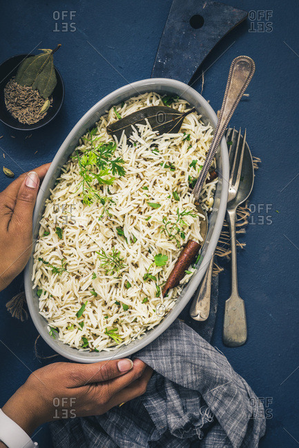 Indian Cumin Rice also known as Jeera Rice