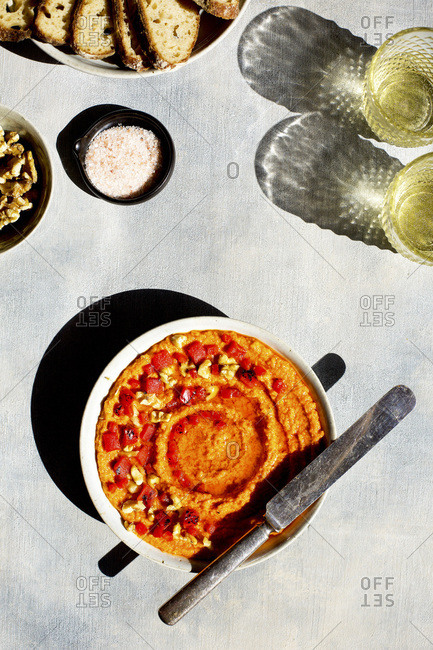 Roasted Red Pepper Pesto