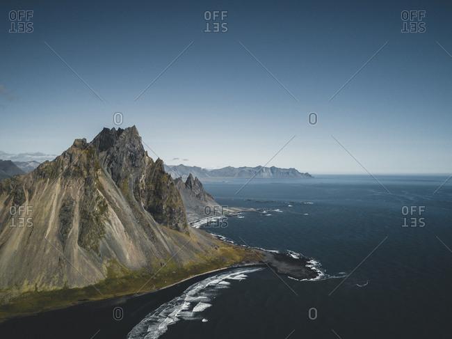 Stokksnes is a headland on the southeastern Icelandic coast, near Hofn and Hornafjordur.