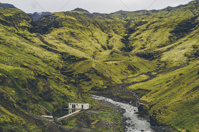 Seljavallalaug is a protected 25-metre outdoor pool in southern Iceland. The pool is one of the oldest swimming pools in Iceland and was built in 1923.