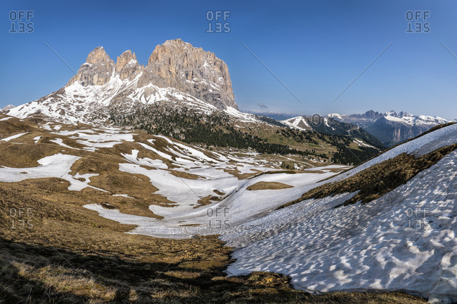 Sella pass- Dolomites- South Tyrol- Italy