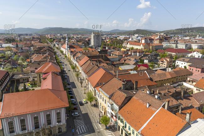 Rumania- Bistrita- townscape