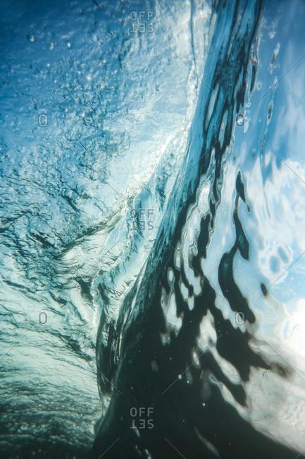 Underwater view of ocean