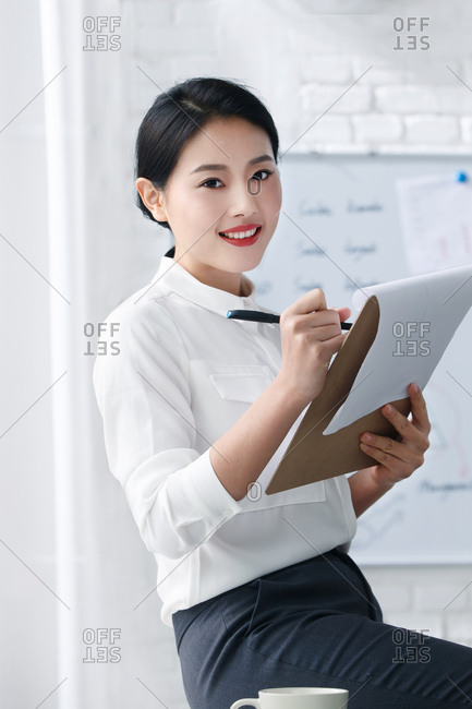 Youth business women in the office