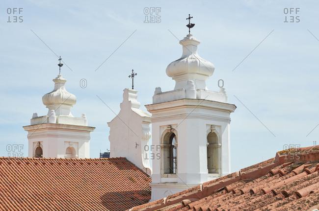 Church facades - Alfama - Lisbon, Portugal
