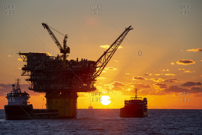 Oil platform Gulf of Mexico