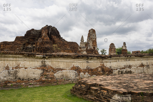 Ayutthaya, the ancient city. Bangkok, Thailand