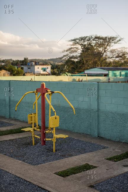 Sport camp in Vinales, Cuba