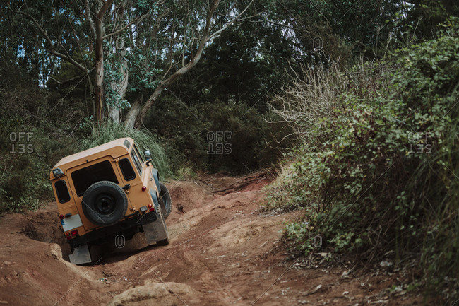 4x4 adventure While off-roading