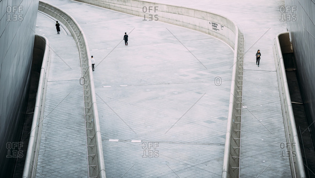 April 23, 2017: South Korea- Seoul- Dongdaemun Design Plaza