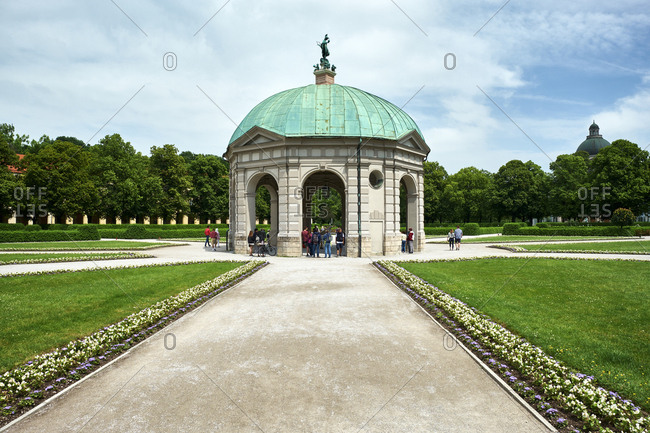 June 11, 2019: Diana Temple at Hofgarten- Munich- Germany