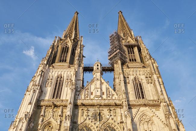 Deutschland- Bayern- Oberpfalz- Regensburg- der Dom St. Peter