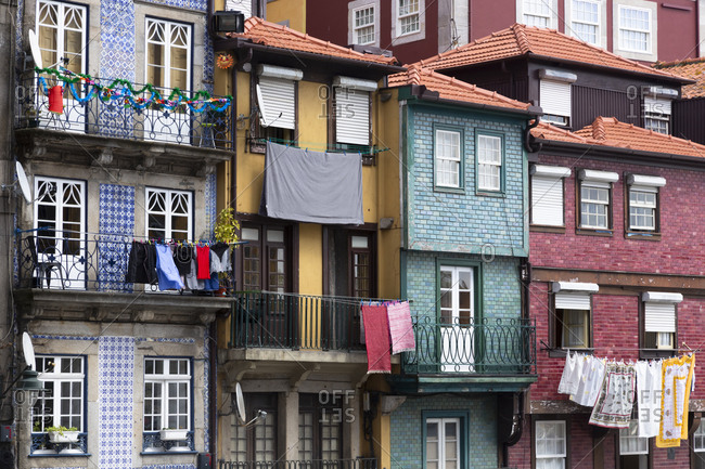Row of houses- Porto- Portugal